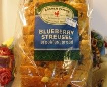 Blueberry Streusel bread from Target = awesome French Toast!