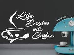 「Coffee Shop Cafe Window Sign Stickers Restaurant Graphic Decal」の画像検索結果