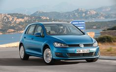 : the 2015 Volkswagen Golf TDI and the 2014 Volkswagen GTI. Volkswagen Golf, Vw Golf Tdi, Vans Vw, First Drive, Porsche 356, Vw Camper, Dream Cars, Diesel, Finals