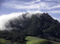 Mountain Fog - Fog moving over hill