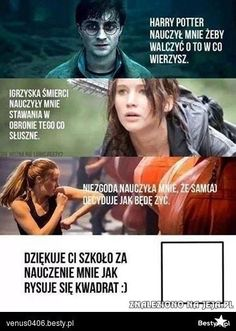 Read from the story Harry Potter Memy by -love-bomb- (♥) with reads. Wtf Funny, Funny Memes, Jokes, Polish Memes, Weekend Humor, Text Memes, 5 W, Harry Potter Memes, Hunger Games