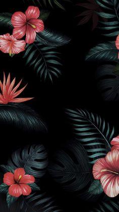 Top Tutorial and Ideas Flower Phone Wallpaper, Summer Wallpaper, Iphone Background Wallpaper, Disney Wallpaper, Screen Wallpaper, Hibiscus, Apple Watch Wallpaper, Pretty Wallpapers, Flower Backgrounds