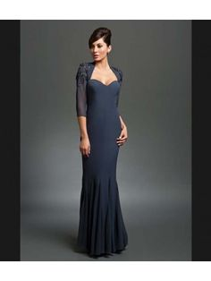 Madame Bridal presents Daymore Couture style 201 mother of bride evening dress.