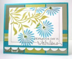 Great card by Lynn   http://thequeensscene.blogspot.com/2011/04/cqc82-hope-your-day-is-fabulous.html
