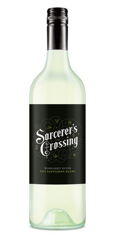 Sorcerer's Crossing by Studio Lost & Found – http://www.studiolostandfound.com/ #wine #packaging #branding #design
