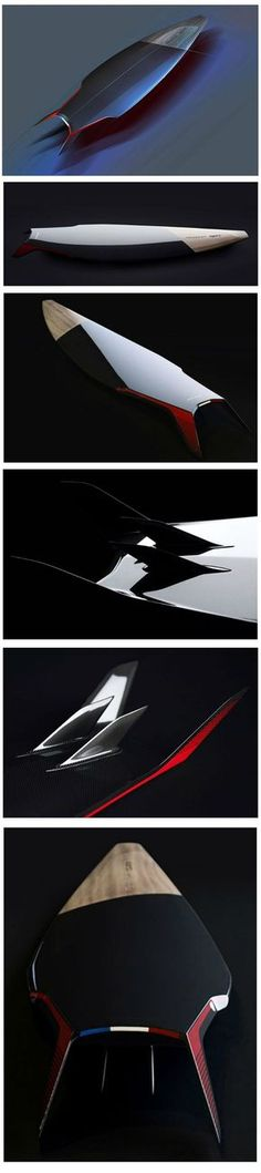 Carbon Surfboard Design by Peugeot