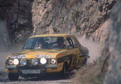 Opel Ascona A rally car 1974