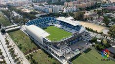 Estadio La Rosaleda en Málaga