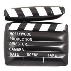 Clap de Cinéma Gonflable - 43 cm