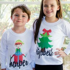 Introducing our NEW line of Personalized Holiday Shirts!  Now get our best-selling designs on our great quality t-shirts!