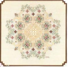 Vine-Bouquet-hardanger-chart-by-Judy-Dixon