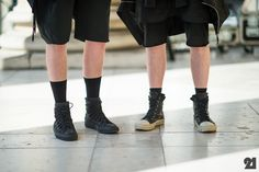 DAMIR DOMA Spring Summer 2012 leather sneakers on the street, Paris