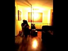 A dog welcomes his owner home after six months on tour