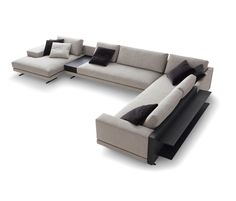 Mondrian seating system de Poliform | Asientos modulares