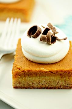 Pumpkin butter cake...........
