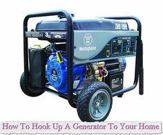 How To Hook Up A Generator To Your Home How To Hook Up A Generator To Your Home Using a portable generator is a more affordable way to power the house during a power outage. You can install one o