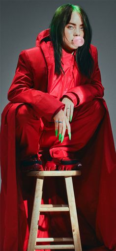 Billie Eilish For Elle Magazine 2019 Mobile Wallpaper (iPhone, Android, Samsung, Pixel, Xiaomi) Billie Eilish, Elle Magazine, Pretty People, Beautiful People, Beautiful Celebrities, Album Cover, Chica Cool, Celebrity Wallpapers, Grunge Hair