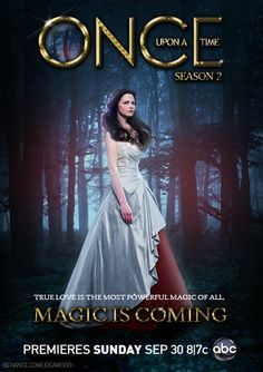 Once Upon a Time - Snow White Poster Season 2