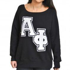 Alpha Phi Sorority Varsity Pullover
