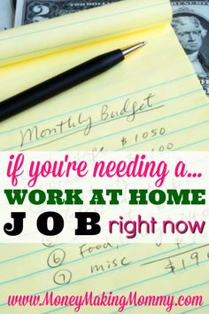 Looking for a job can be stressful -- but when you absolutely need a job and you really need to work from home as well -- where can you look? Find out who's hiring on an ongoing basis. Learn what companies give you the best chances of being hired right aw Work From Home Opportunities, Work From Home Jobs, Business Opportunities, Busy At Work, Earn Money From Home, How To Make Money, Making Money From Home, Money Fast, Finance