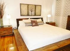 Bedroom created by Idea Interiors in Montreal.  @Jodi De Jong Interiors @Wendy Werley-Williams.ideainteriors.blogspot.com #montreal #buddhist #zen #bedroom
