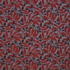 Warwick Fabrics : QUATRO RED