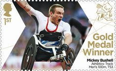 Twitter / RoyalMailStamps: Congratulations to @mickeybushell ...