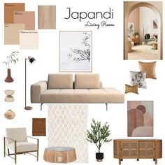 Condo Living Room, Living Room Decor Inspiration, Interior Design Boards, Living Room Designs, Retro, Muji, Furniture, Ideas, Modern Interior Design