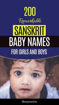 200 Remarkable Sanskrit Baby Names For Girls And Boys : If you are looking for a name with a deep meaning, take a look at MomJunction's collection of Sanskrit baby names. You'll probably find what you are looking for! Source by momjunction Hindu Girl Baby Names, Sanskrit Baby Boy Names, Name Of Baby Boy, Hindu Names For Boys, Indian Baby Girl Names, Baby Girl Names Unique, Boy Girl Names, Sanskrit Names, Twin Baby Boys