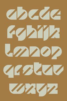 ollivander font by Paul Bokslag, via Behance