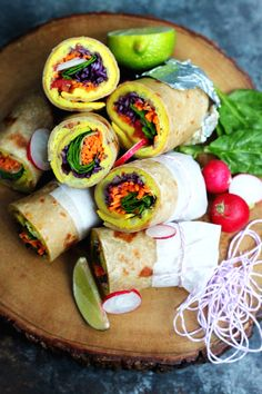 Ugandan Rolex: East African Breakfast Wraps Rolled with a Vegan Omelette Inside