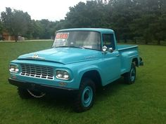 1963 International Harvester Pickup.