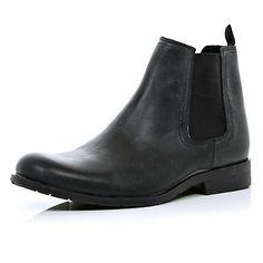 Black chelsea boots £45.00