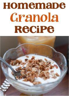Homemade Granola Recipe!