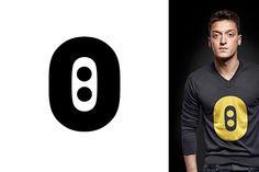 Logotipo de Ozil #logo #deportista #brandgourmet