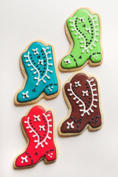 Western Sugar Cookies by guiltyconfections on Etsy, $23.40
