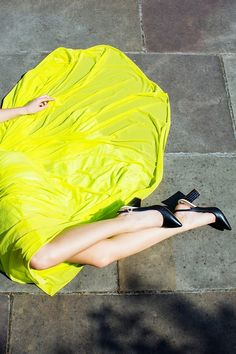 #yellow #skirt #photography