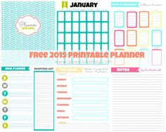 This year is quickly coming to a close, as much as I would like to pause it for awhile, and my 2014 printable calendar and weekly planner is coming to an end as well. But don't fret, I have t…