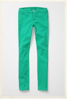 J Brand bright skinnies - I want one of every color.