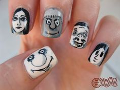 The Adams Family Nails