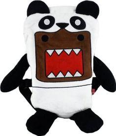 Domo Panda Plush Backpack