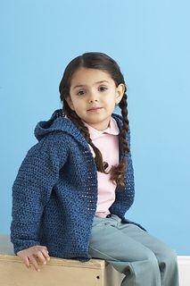 Wee Jacket by Lion Brand Yarn - free crochet pattern