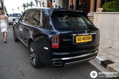 Rolls-Royce Cullinan in Monaco, Monaco Spotted on by D&A Crew Rolls Royce Cullinan, Automotive Photography, Car Detailing, Luxury
