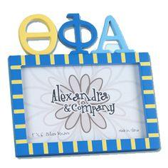 Theta Phi Alpha Sorority Letter Photo Frame $11.90