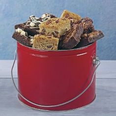 Wedding anniversary gifts:Stew Leonard's - Brownie Bucket-Half Gallon