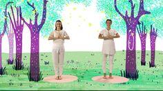 """YOGIC / Yoga para niños - Cápsula """"Viaje al Bosque Encantado"""" - Juegos y..."""