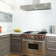 kitchen cabinets grey stain and bamboo - Google Search
