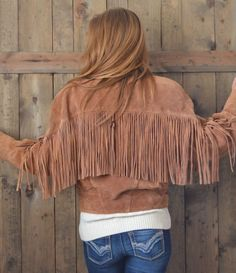 Vintage 80s tan brown native american suede by PerennialPast, $48.00