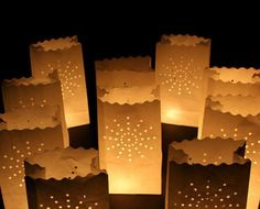 $14 for 10 Luminary Paper Candle Bags or $23 for 20, with Free Shipping!