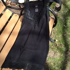 Black Camisole Size Medium PRICE IS FIRM!! Camisole size medium black. Stretchable fabric. Mossimo Supply Co Tops Camisoles